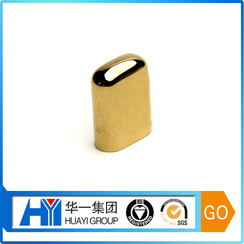 Customized Gold Plated USB Cap Protective Cover With Logo