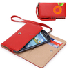 Light weight clutch wallet leather hard phone case for iPhone 7