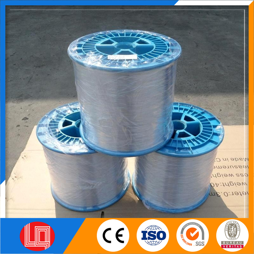 Electro galvanized steel wire for Netting, Woven wire mesh, Tianjin factory