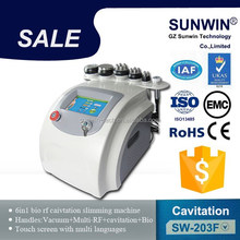 Body Shaping Cavitation Slimming Physical Therapy Equipments/ultrasonic radio frequency machine
