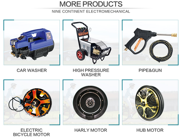 high pressure motorcycle accessories tractors wash equipment