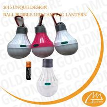 1XAA Battery operation camping decorative light bulb with hook,led tent bulb light ,SMD tent light