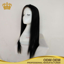 Top Grade Wholesale Stock Unprocessed Silky Straight Virgin Hair Glueless Full Lace Human Hair Wigs
