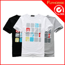 Wholesale magic design printing 100% cotton man t-shirt