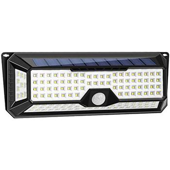 China Factory Cheap Price IP65 Solar Garden Lights Outdoor Wall Mounted 90 LED Motion Sensor Solar Light