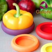 Rubber Food Fresh Saver Silicone Food Hugger