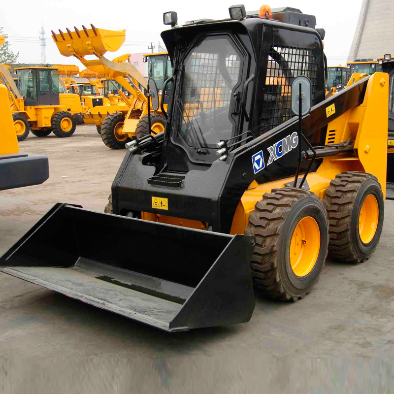 XCMG wheel loader skid steer loader XT750