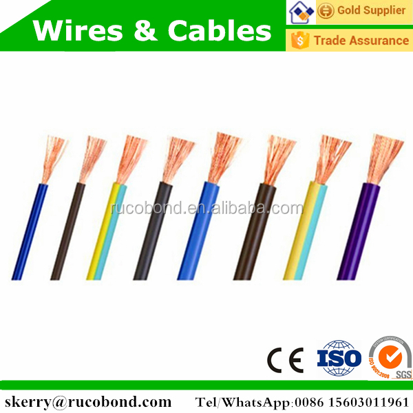 h05vv-f rvv copper wire manufacturers electrical house wiring