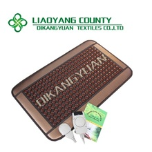Decavem best selling back pain relief stress heating thermal brown tourmaline massage mattress