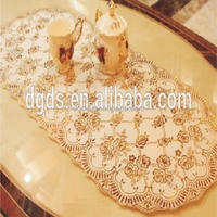 elegant pvc table cloth recycled plastic China supplier