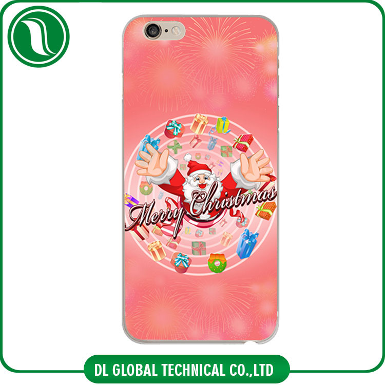Santa Claus, Christmas Tree, Christmas mobile phone case for iphone 6 UV Printing hot cover for iphone 6