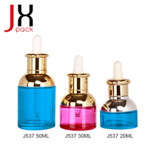 High Quality 30ml Matte Black Color Glass Dropper Bottle For Smoke Oil