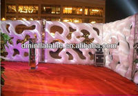 2015 New Brand Party Decoration/Wedding decoration/Event supply inflatable wall