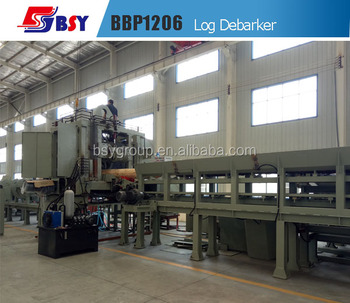 Continuous Big Log Wood Debarker Machine in Wood Industry
