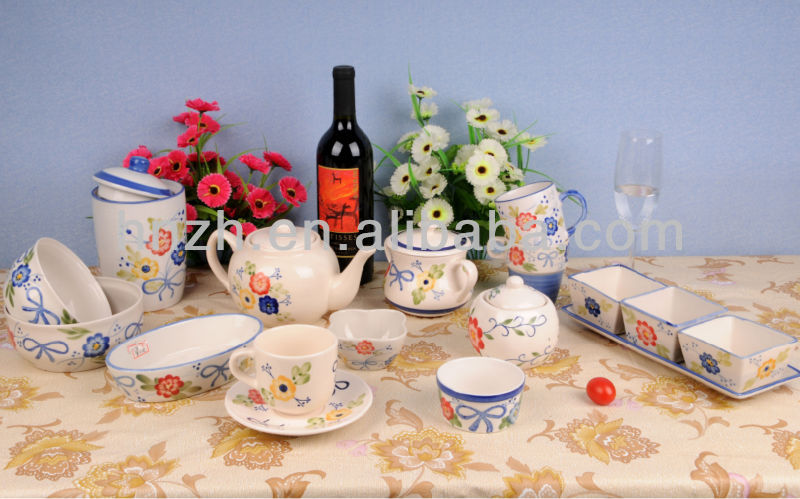 Excellent Handpainting Ceramic kitchenware set