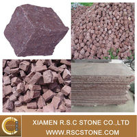 High quality G666 granite mesh cobblestone pavers