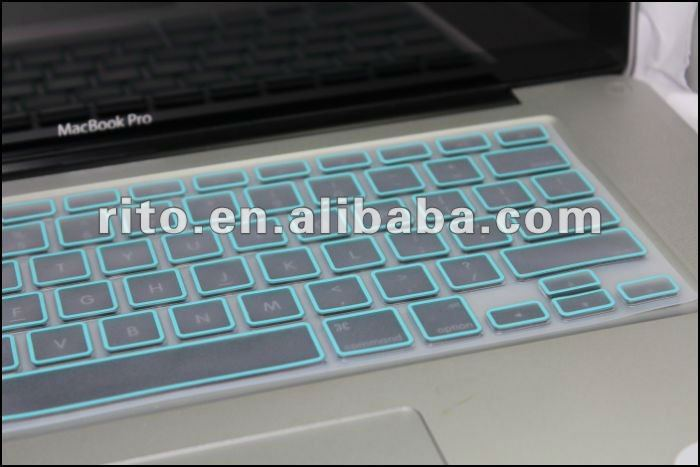 Flexible Clear Keyboard Protector For Apple Macbook Pro 13 Retina Screen Display,OEM is Preferred