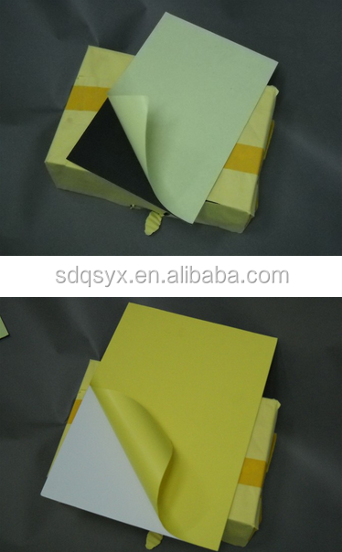 PVC material double side self adhesive pvc inner sheet