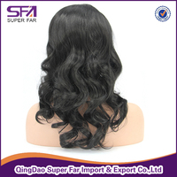 best selling body wave synthetic front lace wig wholesale