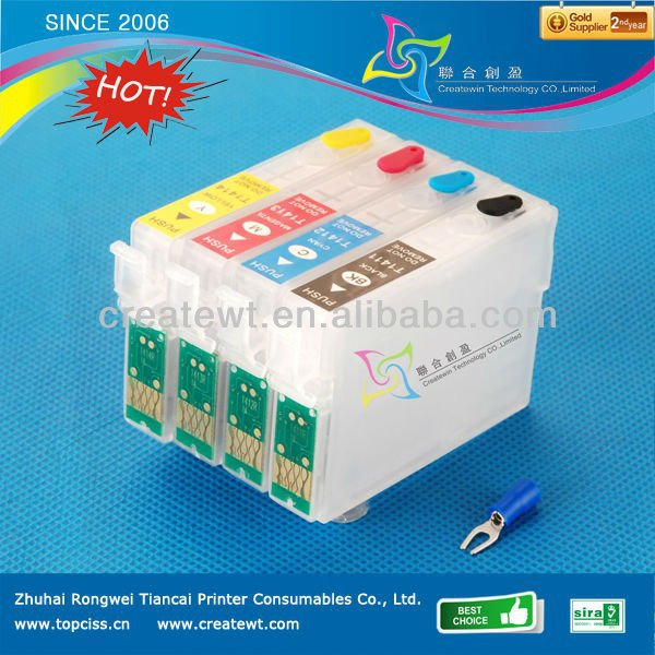 High quality compatible refillable ink cartridge For Epson NX430 NX420 NX125