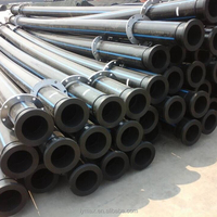 Black Plastic Pipe HDPE Pipe Sizes