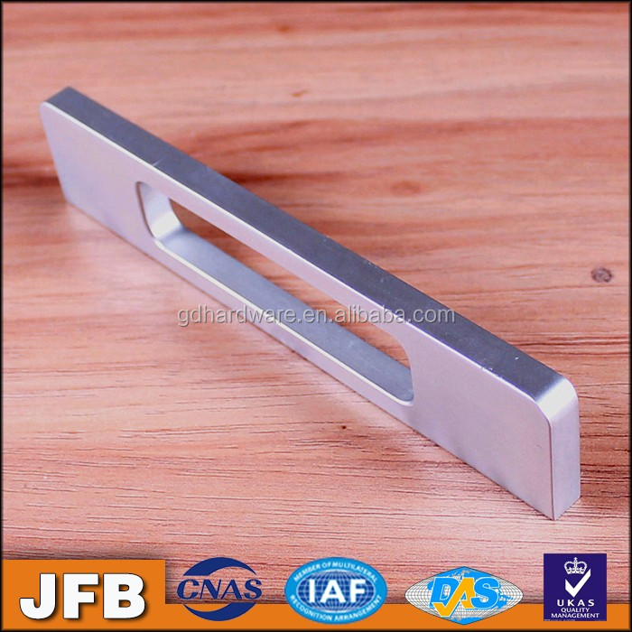 Highly recommended foshan furniture Aluminum pull handle supplier door handle manufacturer chrome kitchen cabinet handle