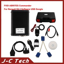 2015 High Quality of Fvdi renault ABRITES Commander For Renault FVDI For RENAULT V6.3 Software USB Dongle