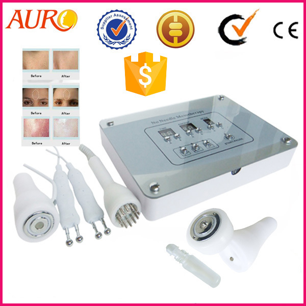 AU-T01 Virtual Mesotherapy No Needle Facial Machines For Home Use