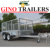 hot dip galvanized 10x5 steel wheel tandem trailer with cage