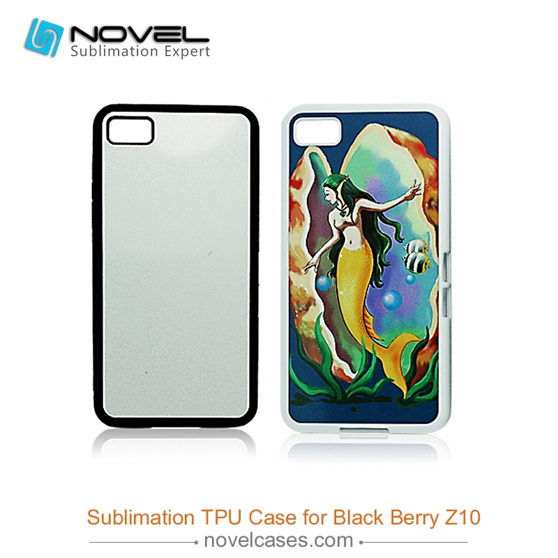 New Arrival fancy Sublimation cell <strong>Phone</strong> Case For Black Berry <strong>Z10</strong>