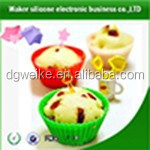 China Supplier Factory silicone cupcake liner/silicone bakeware/baking cup