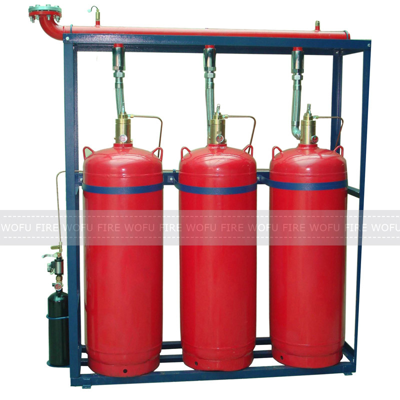 180ltr hfc227ea fire suppression system
