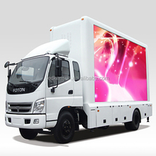 Full color led truck P8 outdoor smd led display screen manufacturer