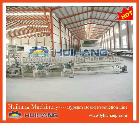 Gypsum Board Plant/automatic PLC control plaster panel machinery