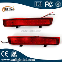 Red Rear Bumper Reflector Light Tail Light Led For Freelander