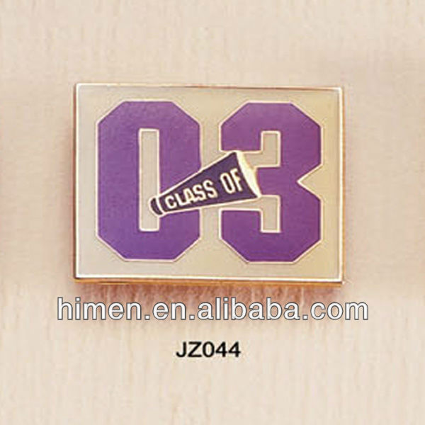 zinc alloy plates metal medallion high polished plates with lacquer MP-103