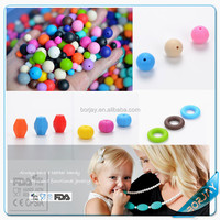 BPA free silicone beads for jewelry