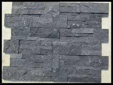 Black Natural Culture Slate For Wall Decoration