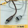 Leather PU double-faced usb data cable