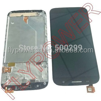 "100% New Touch Screen + LCD Display + Frame assembly with ""Hasee"" Logo For ZOPO C7 ZP990 Black"