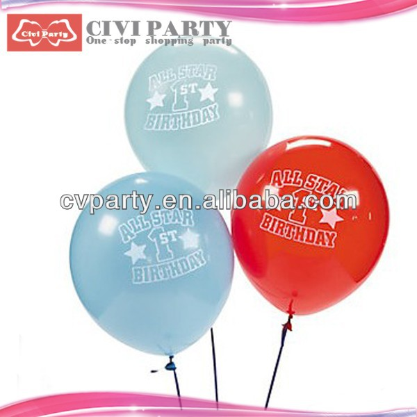 round ballon,birthday baloon,party balloon water latex free balloon sale
