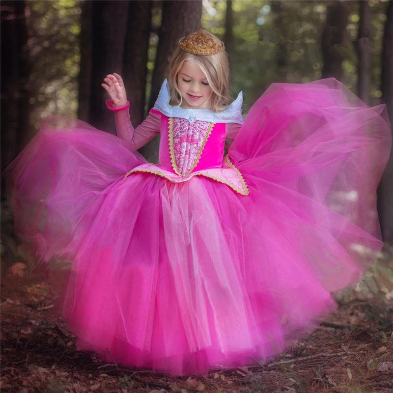 4 10 año Niñas Cosplay Vestidos princesa Fairy vestido para niño ...