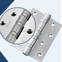 4 ball bearing 304 or 201 stainless steel butt hinge for wood door