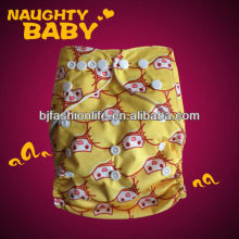 2013 New Special hot-sale Water-proof Breathable Printed Baby Cloth Diaper with pocket