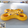 SR-04 Fashion design Inflatable water tube for water park group playing