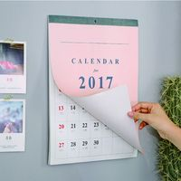 Custom Large Wall Calendar Making Manufacturer
