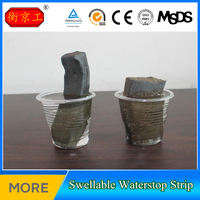 Water Sweliing Rubber Water Stop Strip in Construction Joint