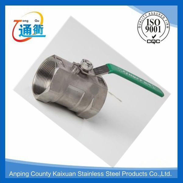 stainless steel equal female threaded ball valve 1pieces