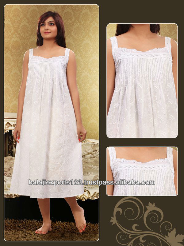 Ladies comfortable cotton nighty,cotton nighties