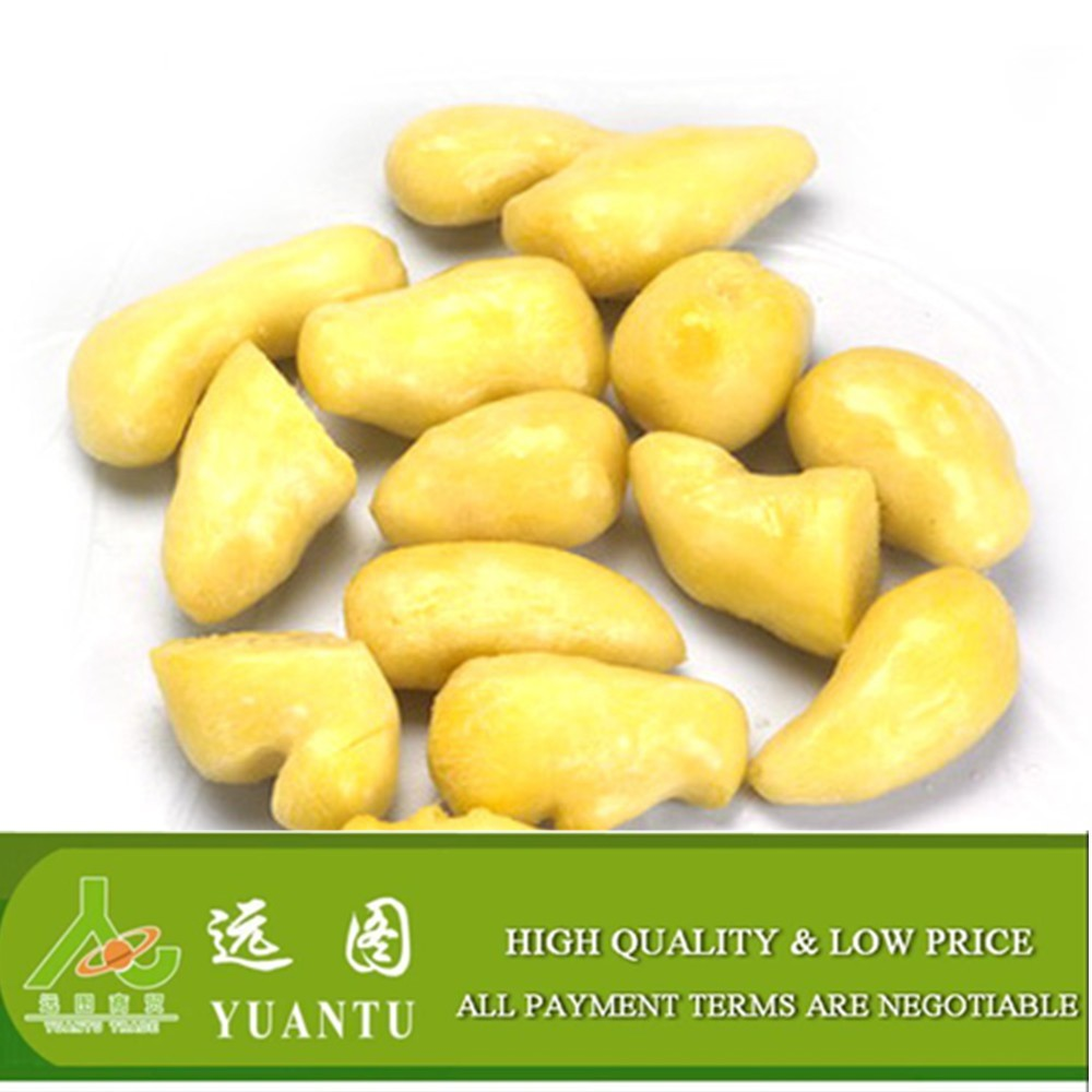 Frozen IQF ginger young peeled ginger 8-20g, 20g up per piece